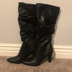 Shoes - Ruched Marerys boots